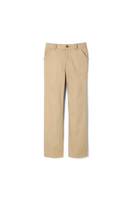 of New! Girls Straight Leg Twill Pull-on Pant