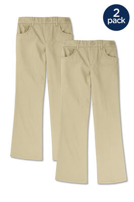 of Pull-On Girls Pant 2-Pack