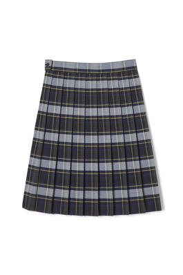 of New! Plaid Below the Knee Skirt