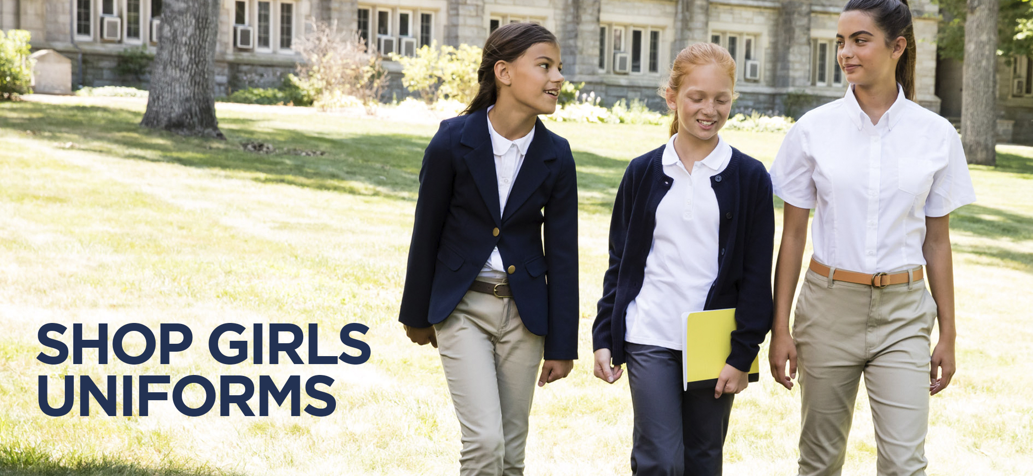shop girls uniforms