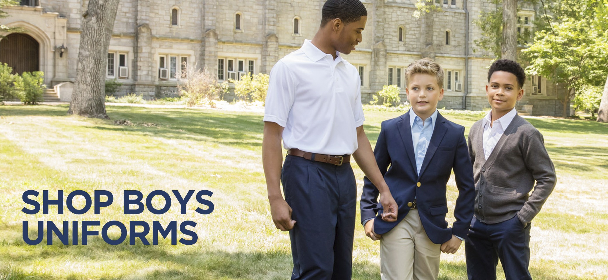 shop boys uniforms