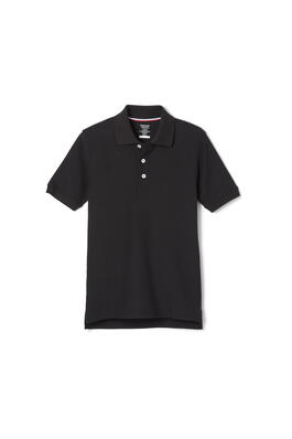 Product Image with Product code 1012,name  Short Sleeve Pique Polo   color BLAC
