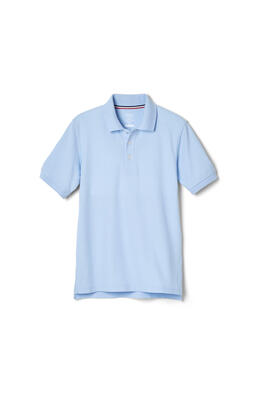 Product Image with Product code 1012,name  Short Sleeve Pique Polo   color BLUE