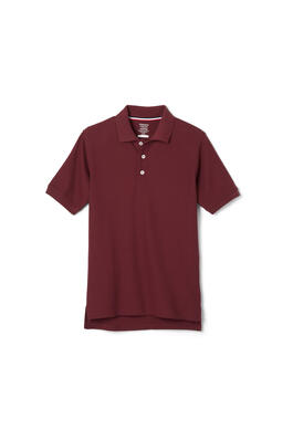 Product Image with Product code 1012,name  Short Sleeve Pique Polo   color BURG