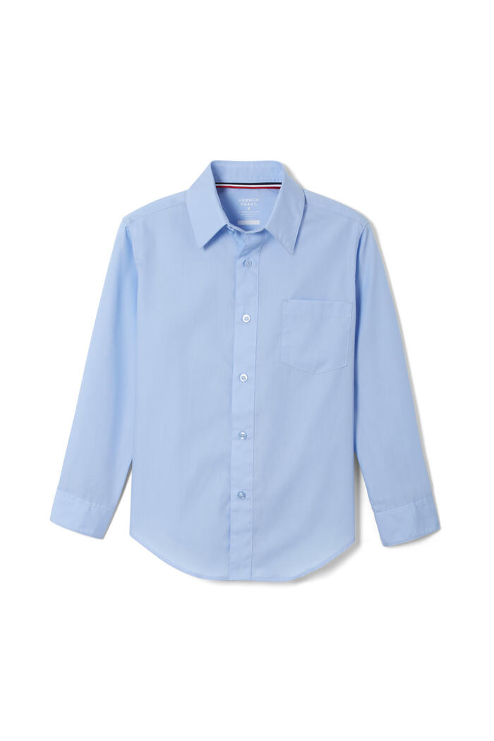 Product Main Image of Long Sleeve Dress Shirt with Expandable Collar