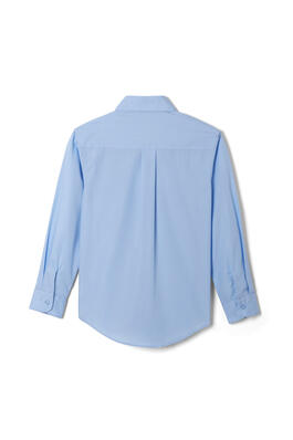 of Long Sleeve Dress Shirt with Expandable Collar