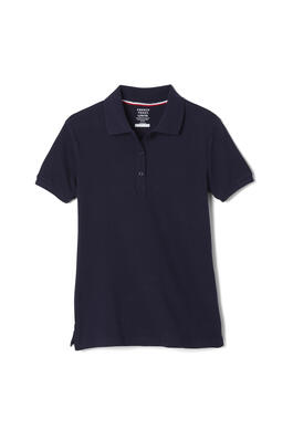 Product Image with Product code 1403,name  Short Sleeve Stretch Pique Polo (Feminine Fit)   color NAVY
