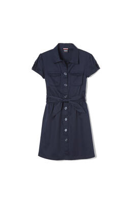 Product Image with Product code 1425,name  Canvas Safari Shirtdress   color NAVY