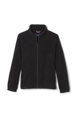 Product Image with Product code 1689,name  Full Zip Microfleece Jacket   color BLAC
