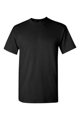 Product Image with Product code 4105,name  Heavy Cotton Tee   color BLAC
