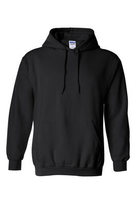 Product Image with Product code 4110,name  Heavy Cotton Hoodie   color BLAC