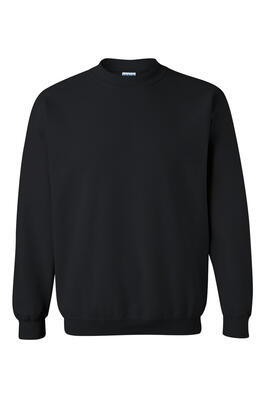 Product Image with Product code 4111,name  Heavy Cotton Crewneck Sweatshirt   color BLAC