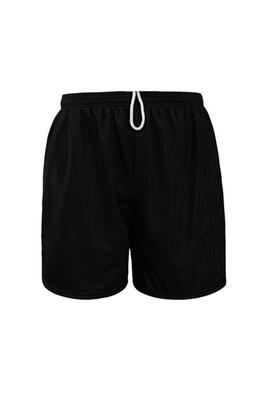 "Product Image with Product code 4113,name  Youth Coed Closed Mesh Shorts 6""   color BLAC"