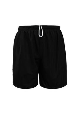 Product Image with Product code 4114,name  Adult Closed Mesh Shorts 7''   color BLAC