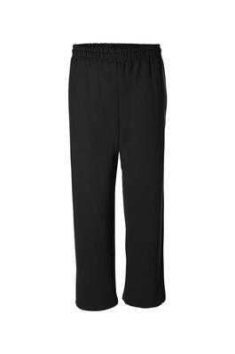 Product Image with Product code 4118,name  Heavyweight Open Bottom Sweatpants   color BLAC