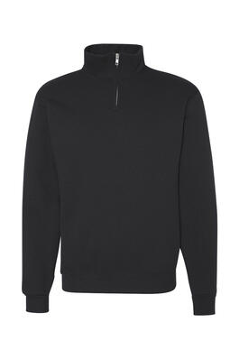 Product Image with Product code 4122,name  Jerzees - Nublend® Quarter-Zip Cadet Collar Sweatshirt   color BLAC