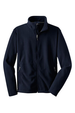 Product Image with Product code 4730,name  Full Zip Fleece Jacket   color NAVY