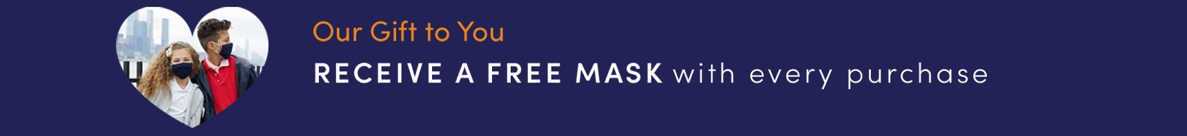 French Toast Free Cloth Mask with Purchase