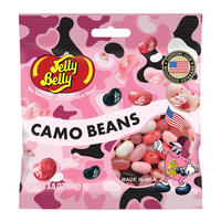 Pink Camo Bean Jelly Beans 3.5 oz Grab & Go® Bag