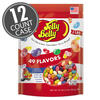 49 Assorted Jelly Bean Flavors - 2 lb Pouches - 12-Count Case