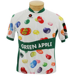 Jelly Belly Green Apple Cycling Jersey - Adult - Extra Small