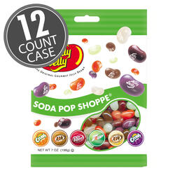 Soda Pop Shoppe® Jelly Beans - 7 oz Bags - 12-Count Case