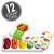 5-Flavor Sours Jelly Bean Gift Box - 12-Count Case-thumbnail-1