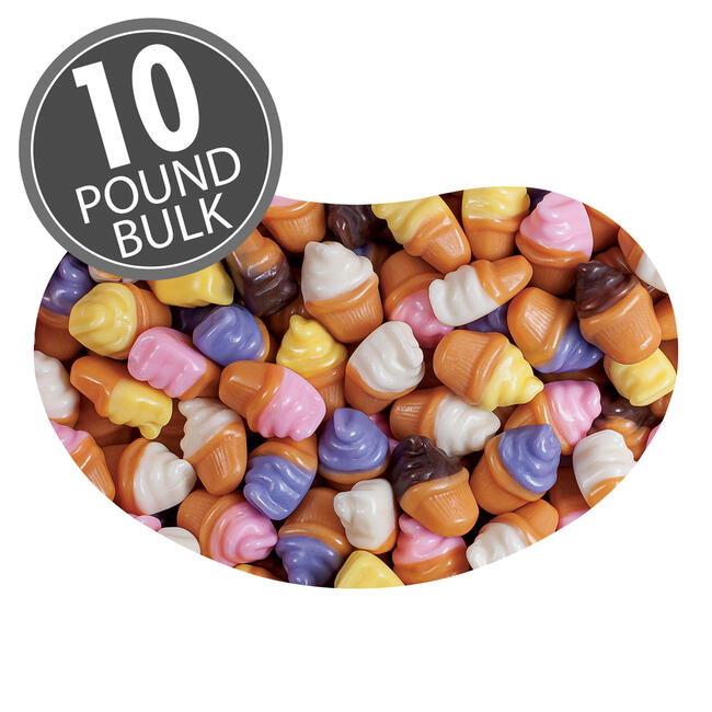 Jelly Belly Candy Cupcakes - 10 lbs bulk