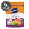 Sunkist® Fruit Gems® - 10.5 oz Pouch Bag 6-Count Case