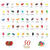 50-Flavor Jelly Bean Gift Box - 6-Count Case-thumbnail-2