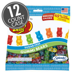Sugar-Free Gummi Bears - 2.8 oz Bag - 12 Count Case