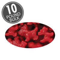 Scottie Dogs Red Licorice 10 lb Case