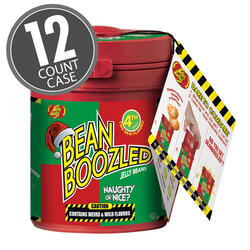 BeanBoozled Naughty or Nice Mystery Bean Dispenser (4th edition), 12-Count Case