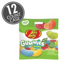Jelly Belly Assorted Sour Gummies 3.5 oz Bag - 12 Count Case
