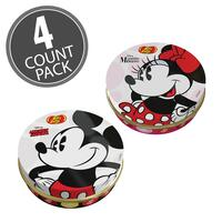 Disney© Mickey Mouse and Minnie Mouse 1 oz Tin - 4-Count Pack