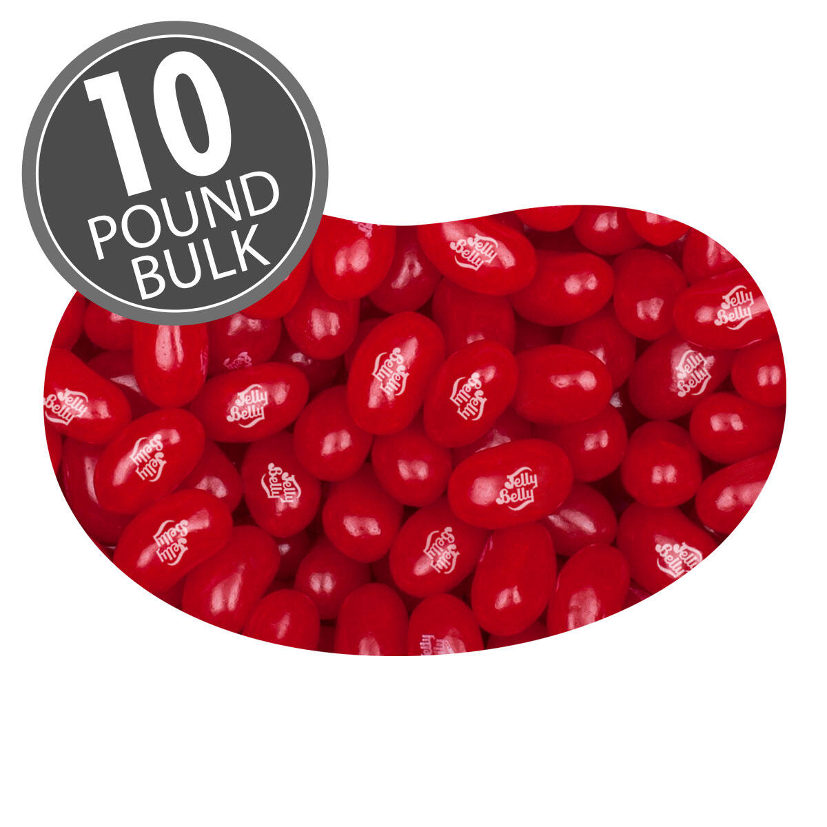 Very Cherry Jelly Beans - 10 lbs bulk