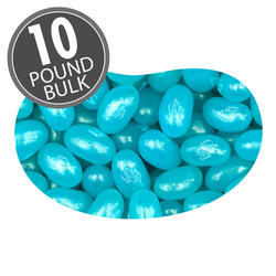 Jewel Berry Blue Jelly Beans - 10 lb Bulk Case