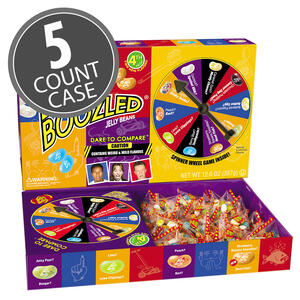 BeanBoozled Jumbo Spinner Jelly Bean Gift Box - 12.6 oz Box (4th edition) 5-Count Case