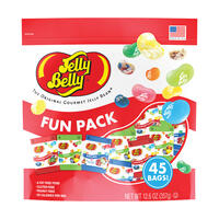 Jelly Belly Fun Pack - Assorted, Sours, Kids Mix 12.6 oz bag