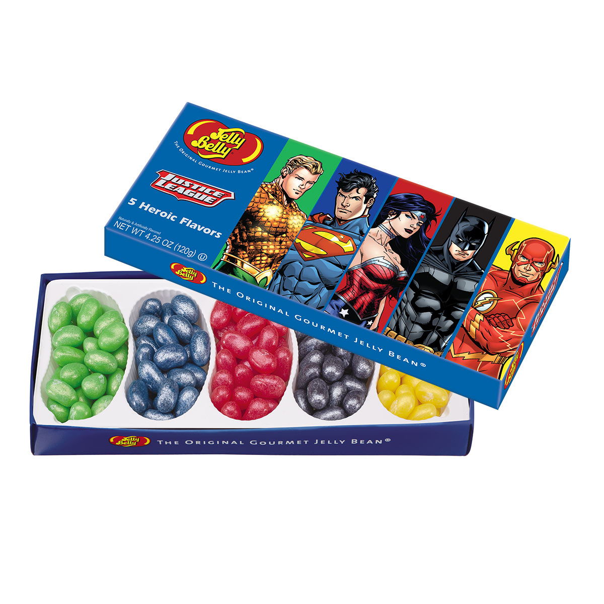 Justice League Jelly Beans 4.25 oz Gift Box