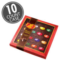 Jelly Belly Assorted Chocolate Truffles Gift Box - 10 Count Case