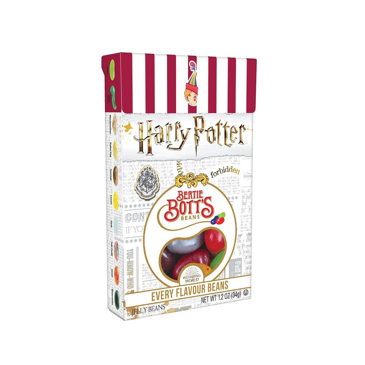 Harry Potter Bertie Bott S Every Flavour Beans 1 2 Oz Box
