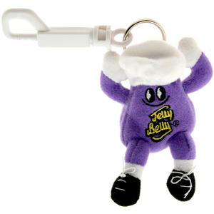 Mr. Jelly Belly Mini Plush Keychain - Island Punch