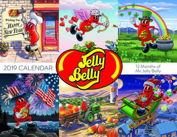 Jelly Belly 2019 Wall Calendar