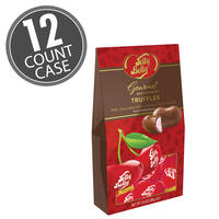 Jelly Belly Very Cherry Milk Chocolate Truffle - 3.6 oz Gable Box - 12 Count Case