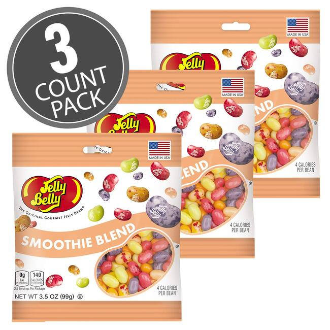 Smoothie Blend Jelly Beans - 3.5 oz Bag - 3 Pack