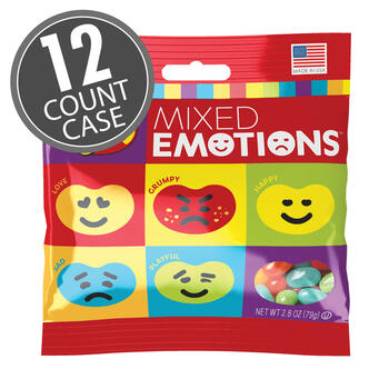Jelly Belly Mixed Emotions® 2.8 oz Grab & Go® Bag 12-Count Case