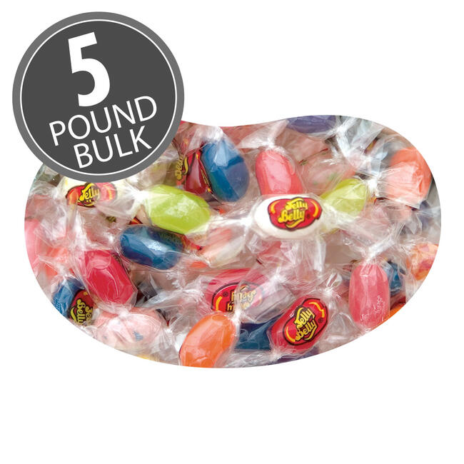 20 Flavor Jelly Bean TWIST - 5 lbs bulk
