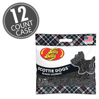 Scottie Dogs Black Licorice 2.75 oz Grab & Go® Bag - 12 Count Case