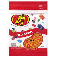 Peach Jelly Beans - 16 oz Re-Sealable Bag